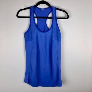 Fabletics | Blue Racerback Athletic Tank